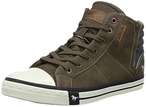 Mustang 4096-501, Herren Hohe Sneakers, Braun (3 braun), 44 EU (9.5 Herren UK)