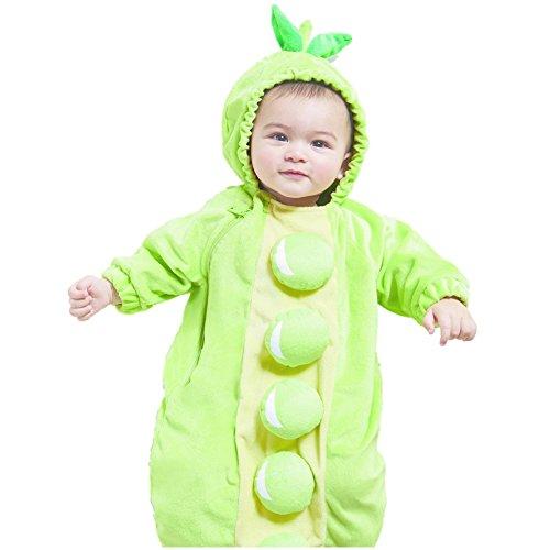 Hyde Eek Plush Bohne Peapod Baby Infant Fasching Halloween Karneval Kostüm Plüsch ()