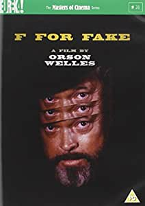 F For Fake [Masters of Cinema] [1973] [DVD]