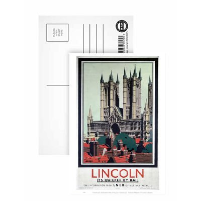 lincoln-postcard-pack-of-8-highest-quality