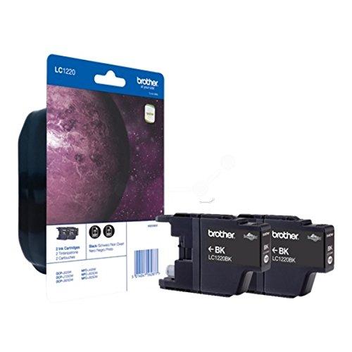 Preisvergleich Produktbild Brother LC1220BKBP2DR Tintenpatrone schwarz für DCP-J 525 W/725 DW/925 DW/MFC-J 430 W/435 W/625 DW/825 DW