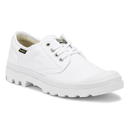 Palladium Pampa Oxford Originale, Sneaker Unisex – Adulto Bianco
