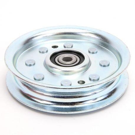 Gorge Plate Stahl mit 1rolle Renforce. Ø 101mm. Durchmesser Rand 117mm
