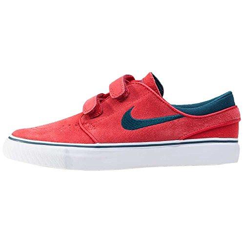 Nike Stefan Janoski Ac (Ps), Chaussures de Skate Garçon Rojo (University Red / Midnight Turq-White)