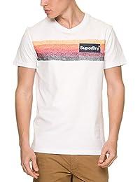 Superdry T-Shirt Men SUPER 77 SURF POCKET Optic