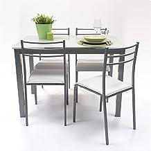 Amazon.es: conjunto mesa y sillas cocina