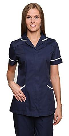 Nightingale Health Healthcare Nurses Doctors Therapist Massage Tunic Uniform (16,