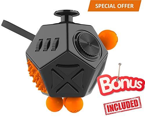 FabQuality Fidget Cube Magicfly Angst Aufmerksamkeit Spielzeug mit -