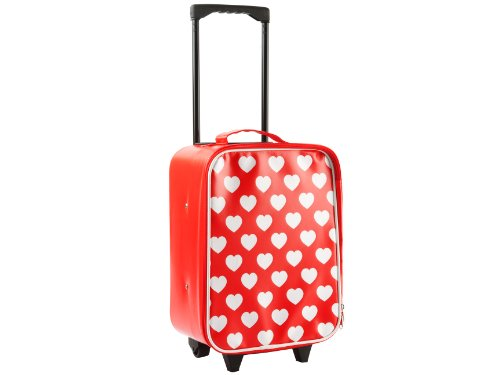 JIP Trolley - Hearts - PVC - Rouge