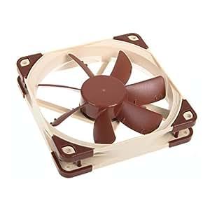 Noctua NF-S12A ULN ventilateur, refroidisseur et radiateur - ventilateurs, refoidisseurs et radiateurs (Boitier PC, Ventilateur, Marron, 3-pin)