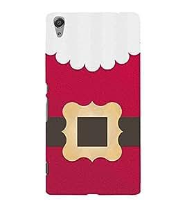 For Sony Xperia C6 pink clothe ( pink clothe, clothe, belt, pink background ) Printed Designer Back Case Cover By TAKKLOO