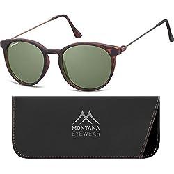 Montana S33 gafas de sol, Multicolor (Turtle + G15), Talla única Unisex Adulto