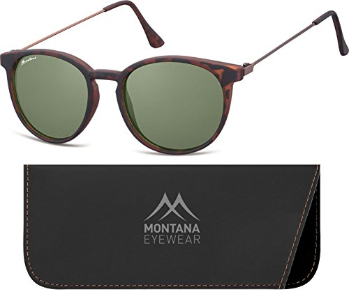 Montana S33, Gafas de Sol Unisex Adulto, Multicoloured (Turtle/G), Talla única
