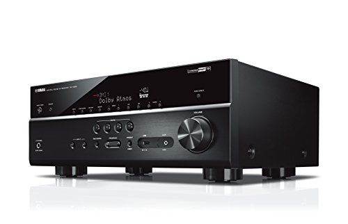 Yamaha AV-Receiver RX-V685 MC schwarz - Netzwerk-Receiver mit außergewöhnlichem 7.2 Music Cast Surround-Sound - das Allround-Talent im Heimkino-System - Alexa Sprachsteuerung Dts Digital-tv