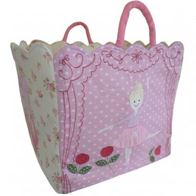 Ballerina Quilted Toy Bag