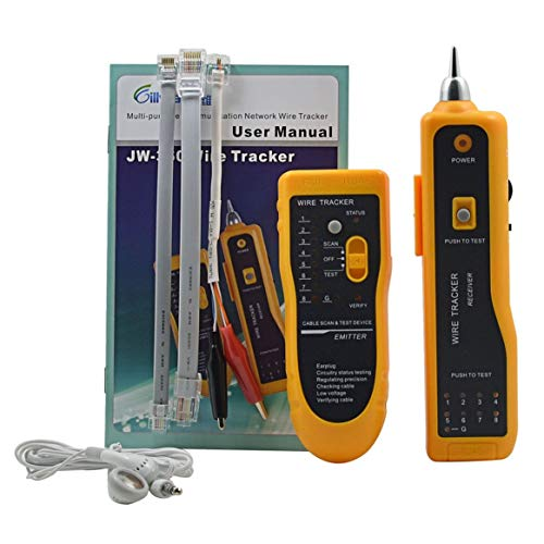 Delicacydex JW-360 LAN Netzwerkkabel Tester Telefon Kabel Tracker Diagnose Tone Tool Kit RJ45 RJ11 Linie Finden Sequenz Test