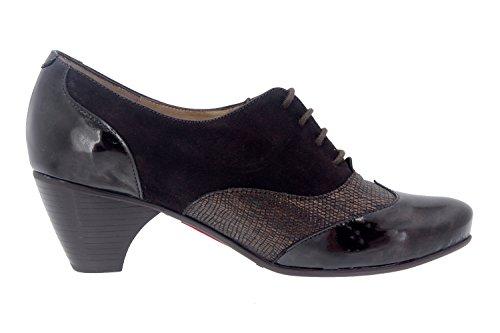Scarpe donna comfort pelle Piesanto 7401 scarpe casual comfort larghezza speciale Caoba