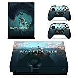 CIVIQ Full Set Faceplates Skin Stickers of Sea of Solitude for Xbox One X Console and Two Controller