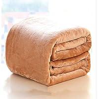 Dicke Fleece Decke,Coral Velvet Bettdecke Weich atmungsaktiv Bettlaken Warmen glatt Decke zu Werfen -Kamel 200x230cm... preisvergleich bei billige-tabletten.eu