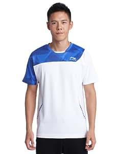 Li-Ning Lnc003xxlw T-Shirt Homme Blanc FR : XXL (Taille Fabricant : XX-Large)