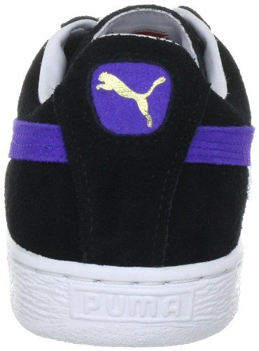 Puma Suede Classic+ , Baskets Basses Mixte Adulte Schwarz (black-spectrum blue 46)
