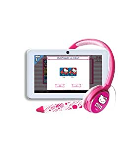 ingo heu014d jeu lectronique hello kitty pack tablette tactile avec stylet casque et. Black Bedroom Furniture Sets. Home Design Ideas