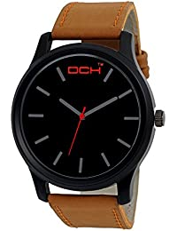 DCH Stylish Analogue Black Dial Wrist Watch For Men/ Boys( IN- 15)