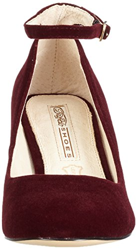 Buffalo David Bitton 15p54-1, Escarpins Femme Rouge (Burgundy 01/Burgundy 01)