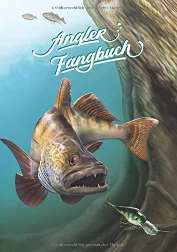 Angler Fangbuch: Notizbuch für Sportfischer • Meine besten Köder, Fangplätze & Angeltechniken • 110 Seiten • DIN A5 (Design Edition, Band 2) -