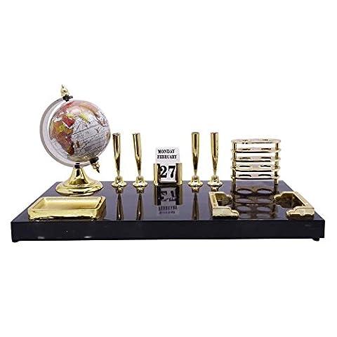 Büro-Tabellen-Schreibtisch-Organisator Stifthalter Dual-Use-Kunststoff stehen Kalender