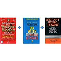 Word Power Made Easy + Instant Word Power + Six Weeks to Words of Power (Set of 3 Books)