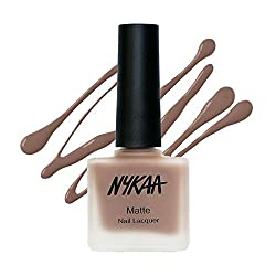Nykaa Matte Nail Enamel - Spiced Gingerbread 126 (9ml)