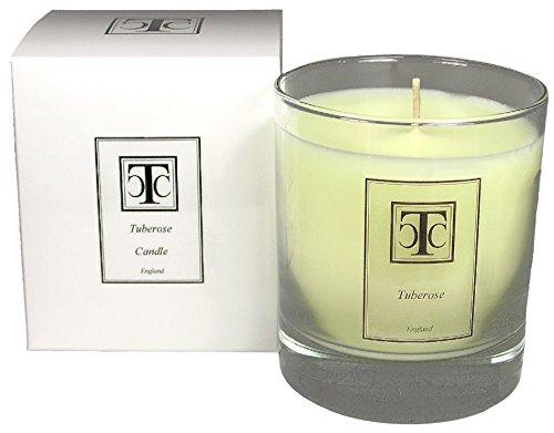 candle company Tuberose Duftkerze 40Stunde, Wachs, weiß, 8x 8x 9,3cm (Tuberose-wachs)