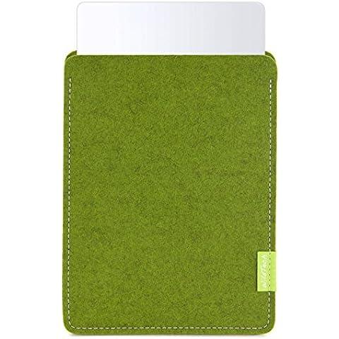 WildTech Sleeve für Apple Magic Trackpad 2 Hülle Tasche - 17 Farben (Handmade in Germany) - Farn