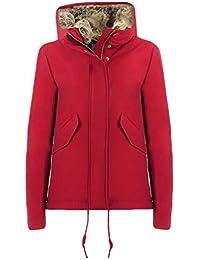 Amazon.it  woolrich - Rosso   Giacche e cappotti   Donna  Abbigliamento c5e1f20968d