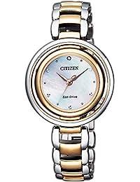 Citizen Analog Mother of Pearl Dial Women's Watch-EM0666-89D