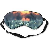 Eye Mask Eyeshade Dandelion Field Sleeping Mask Blindfold Eyepatch Adjustable Head Strap preisvergleich bei billige-tabletten.eu