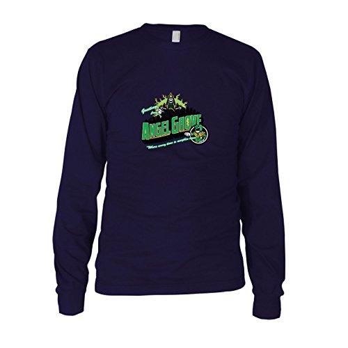 Greetings from Angel Grove Green - Herren Langarm T-Shirt, Größe: XXL, ()