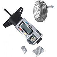 Medidor de profundidad de llanta digital Herramienta de medición de medidor de profundidad de llanta