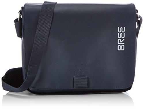 BREE Punch 61, blue, shoulder bag 83251061 Unisex-Erwachsene Schultertaschen 26x6x21 cm (B x H x T), Blau (blue 251)