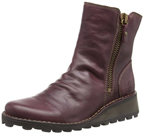 Fly London Mon944fly, Botas Chelsea para Mujer, Morado Purple 010, 38 EU