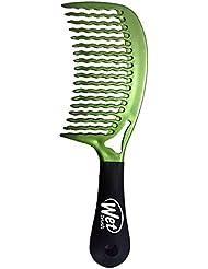 The Wet Brush Wet Comb 2 Kamm zum Entwirren, für nasses und trockenes Haar, Grün
