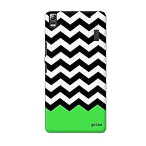 Gobzu Printed Back Covers for Lenovo A7000 - Pattern Green