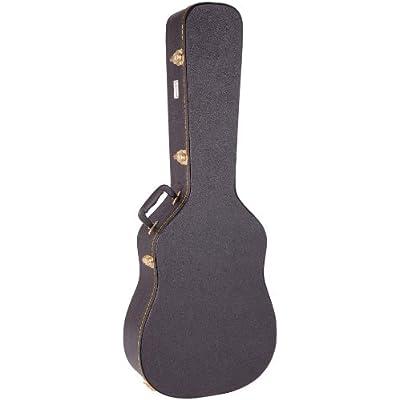 Kinsman Regular Hardshell Semi Acoustic Guitar Case - acoustic-guitar-cases, musician-bags