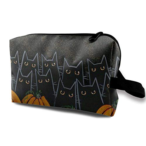 Toiletry Jewelry Bag Holloween Lightweight Graphic Organizer Portable makeup purse
