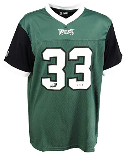 New Era Philadelphia Eagles T Shirt NFL Herren Damen New Era Weiß Schwarz Grün Tri Colour - 3XL