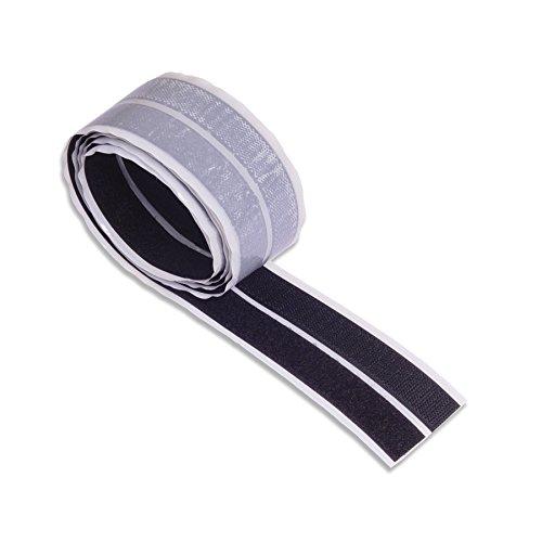 BRINOX b42410N-Heftstreifen aus Kontakt (20mm x 150cm) schwarz