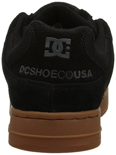 DC Men's Manteca Skate Shoe, Black/Black/Gum, 5 M US Black/Black/Gum