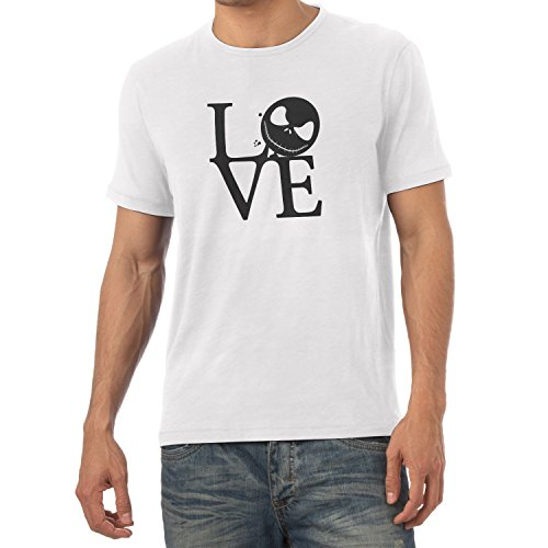 TEXLAB - Nightmare Love - Herren T-Shirt, Größe L, (Halloween City York New Kostüme)