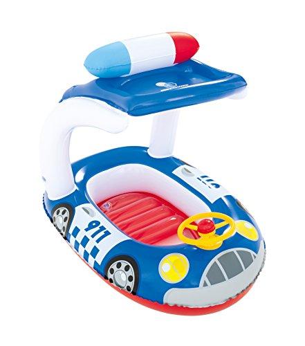 Preisvergleich Produktbild Bestway Poolboot Kiddie Car mit UV-Schutz, 98x66 cm